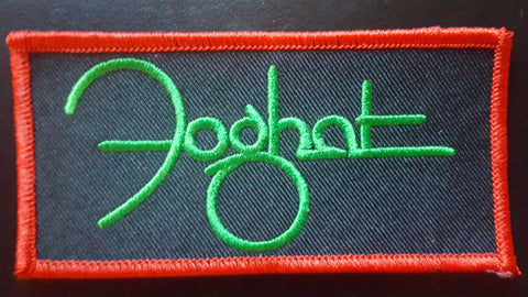 Foghat Embroidered Patch