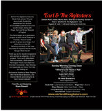 Earl & The Agitators All Star band 4 song CD sampler