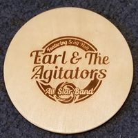 Wood Earl & the Agitators Coaster Set of 4