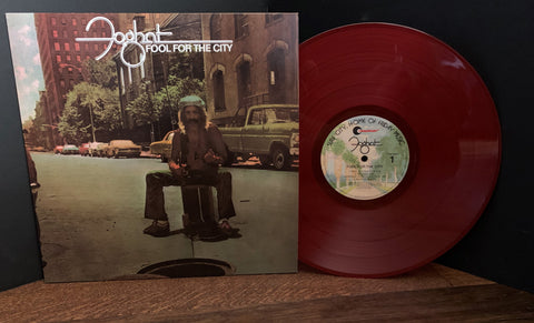 Foghat - Fool For The City Vinyl/Limited Anniversary Edition!- Released by Friday Music
