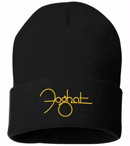 Foghat Logo Embroidered Beanie