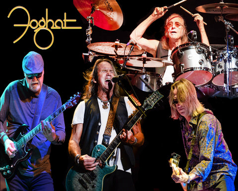 2020 Autographed Foghat commemorative 8X10 glossy photo!