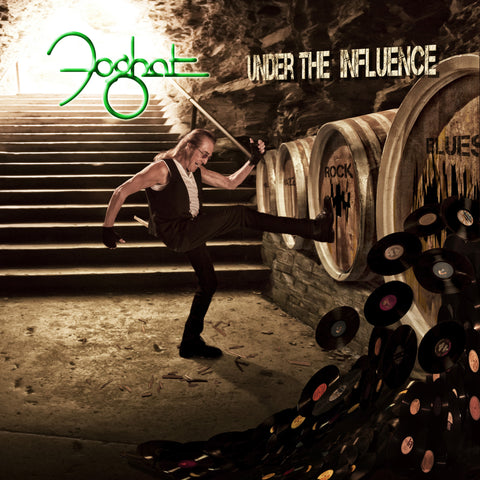 "Autographed copy -Double Vinyl LP of ""Under the Influence"""