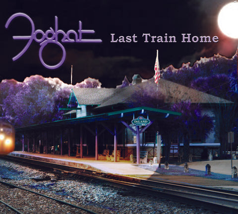 "Autographed copy -Double Vinyl LP of ""Last Train Home"""