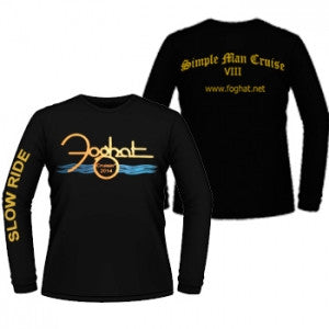 Long Sleeve FOGHAT Shirt from the Simple Man Cruise VIII!