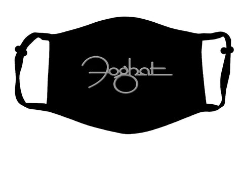 Black Foghat Logo Mask (adjustable)