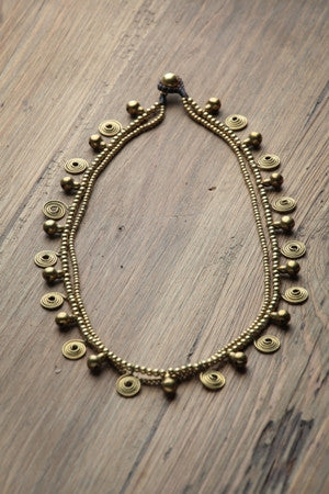 Brass Necklace For Women