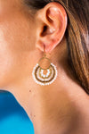 Dangle Earrings Desert Flower - boom-ibiza
