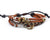 leather multistrand bracelet sailor