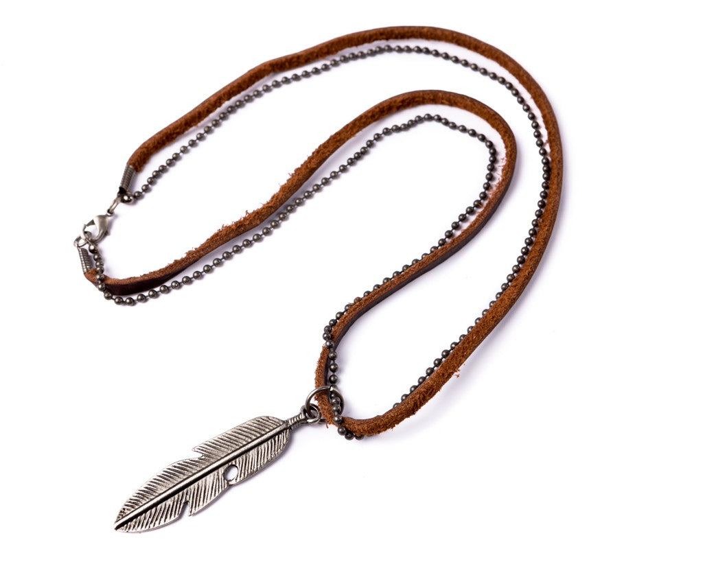 Leather Necklace For Men - boom-ibiza