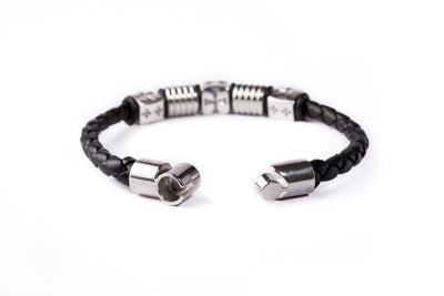 Magnetic Leather Bracelet - Madrid B - boom-ibiza