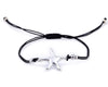 String Bracelet Sea Star - Black