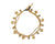 Brass Anklet with Bells & Beads - boom-ibiza
