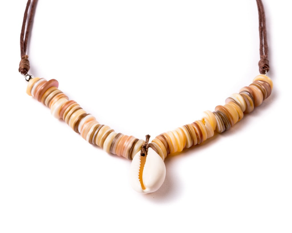 Sunny Day Sea Shell Necklace
