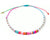 Anklet  -  String Cord Rainbow Colors - boom-ibiza