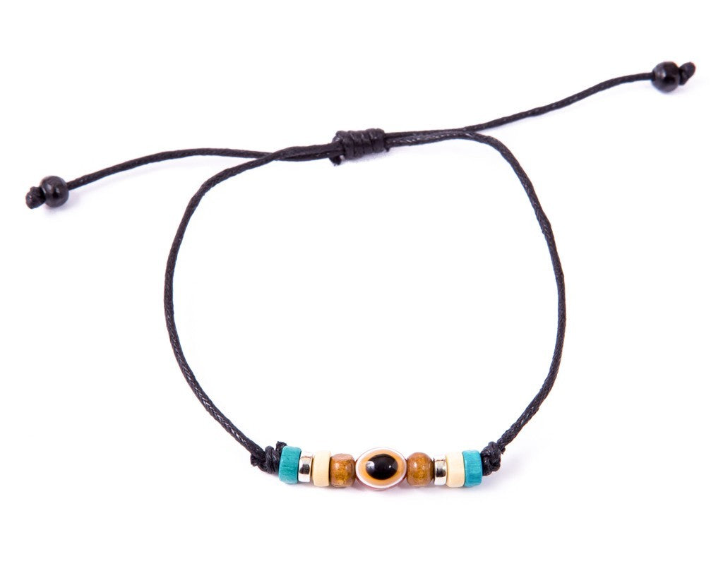 Anklet  -  String Cord Eye Charm