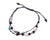 Anklet  -  String Cord Black Seashell