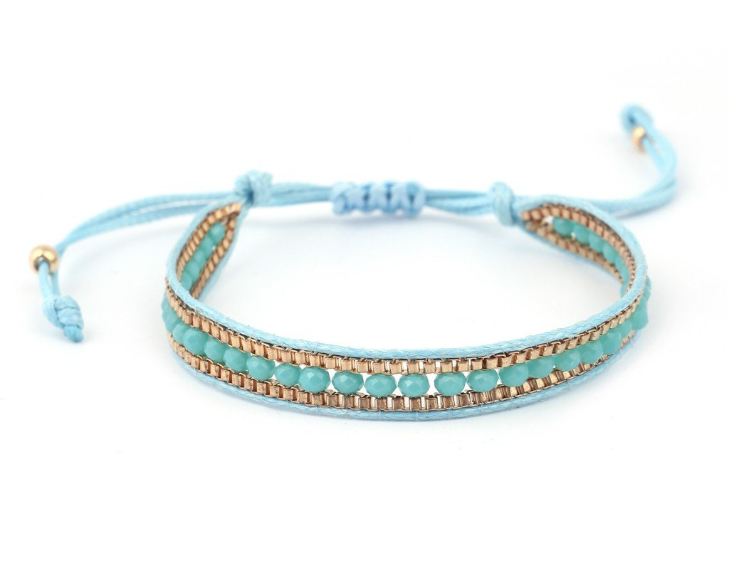 Spanish Bracelet - Light-Blue