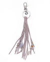Keychain Leather Stripe - off white - boom-ibiza