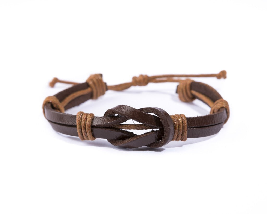 leather bracelet - great bond