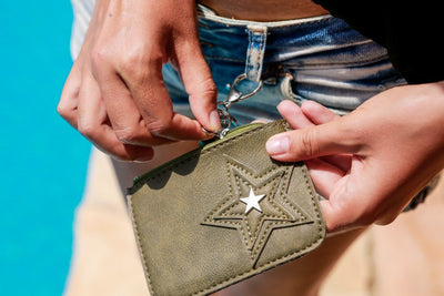 leather wallet - off white - boom-ibiza