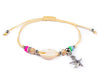 String Seashell Bracelet - Cream Sea-Star - boom-ibiza