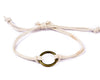 String Ring Bracelet - white - boom-ibiza