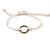 String Ring Bracelet - white