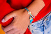 String Tassel Bracelet - Blue Sea Star - boom-ibiza