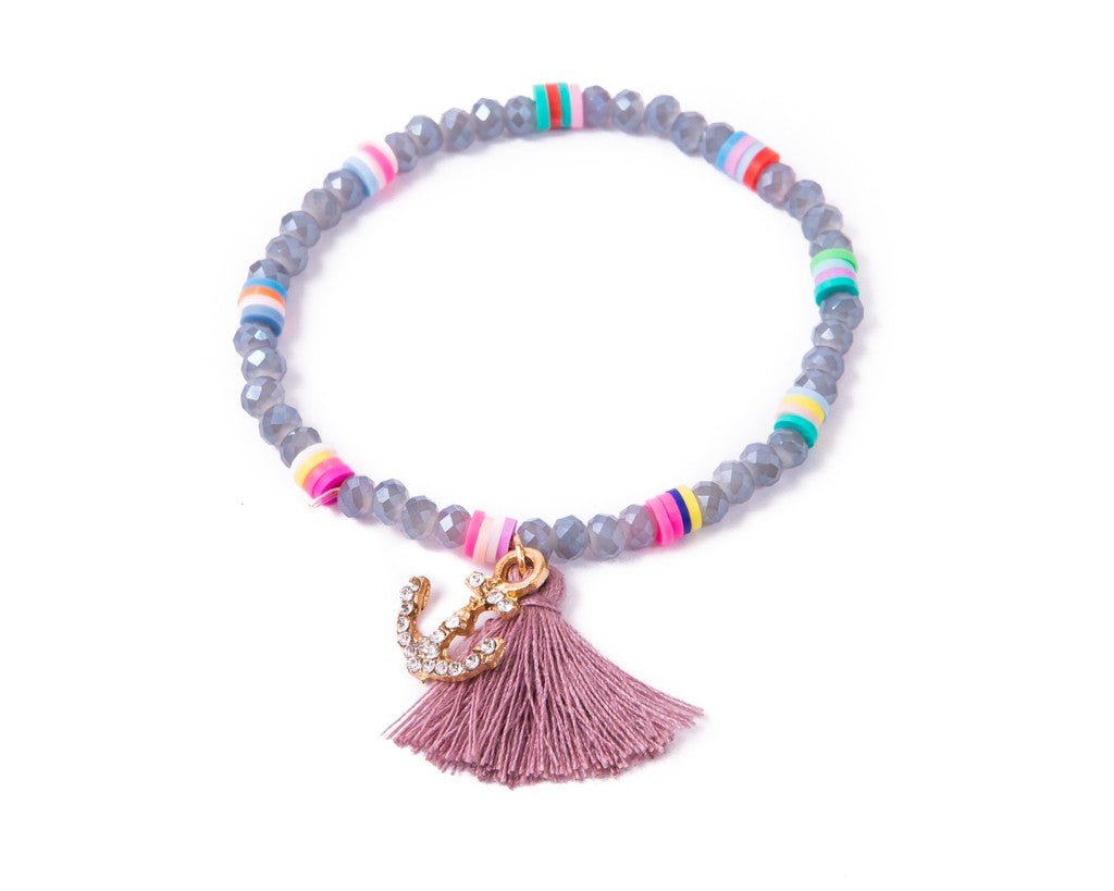 Stretch Friendship Bracelet - Tassel