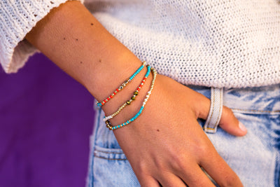 Stretch Friendship Bracelet - Multi strand - boom-ibiza