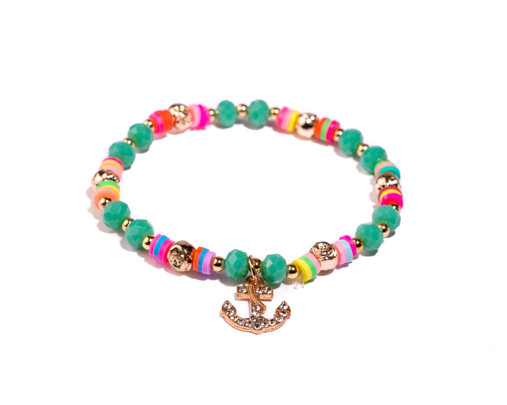 Stretch Friendship Bracelet - Anchor