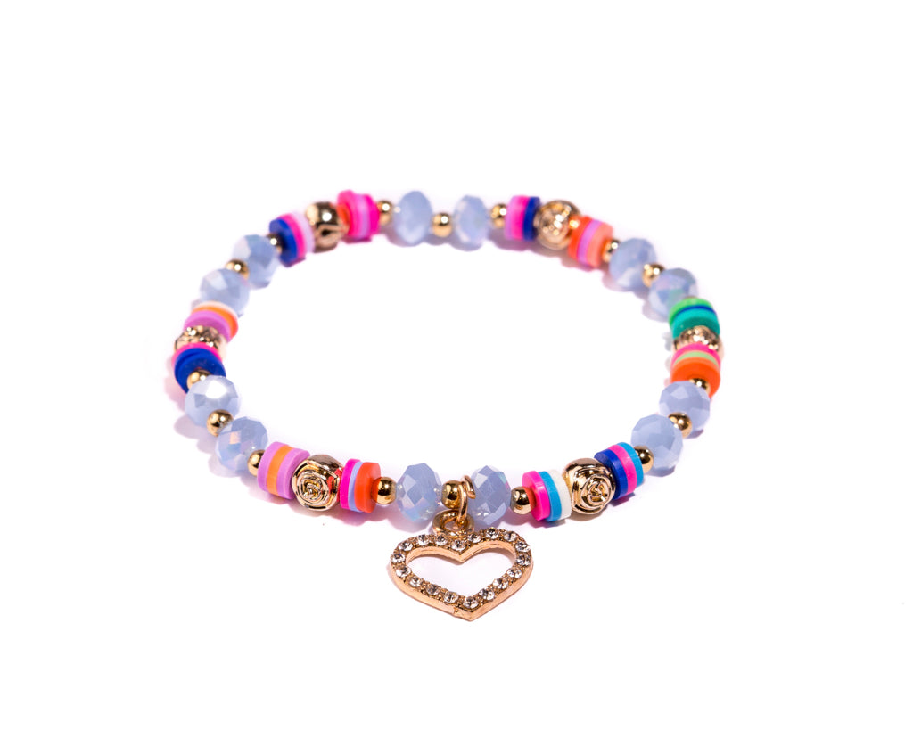 Stretch Friendship Bracelet - Heart