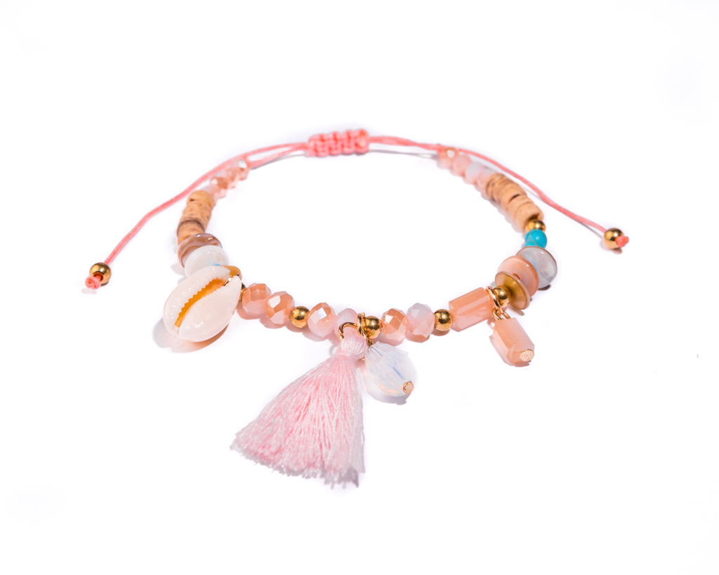 String Seashell Bracelet