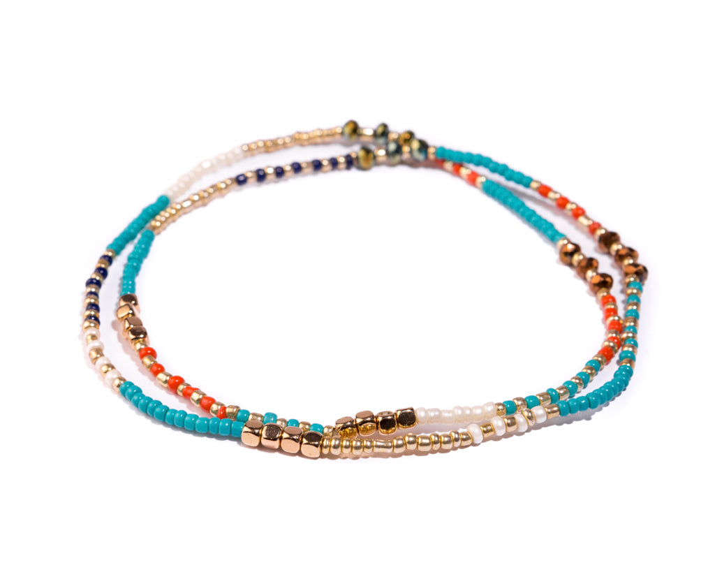 Stretch Friendship Bracelet - Multi strand