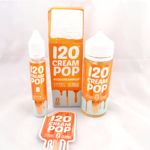 120 Cream Pop by Gourmet E-Liquid 120ml