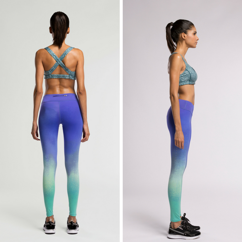 Direct-To-Consumer Yoga Pants: Ombre Galaxy I