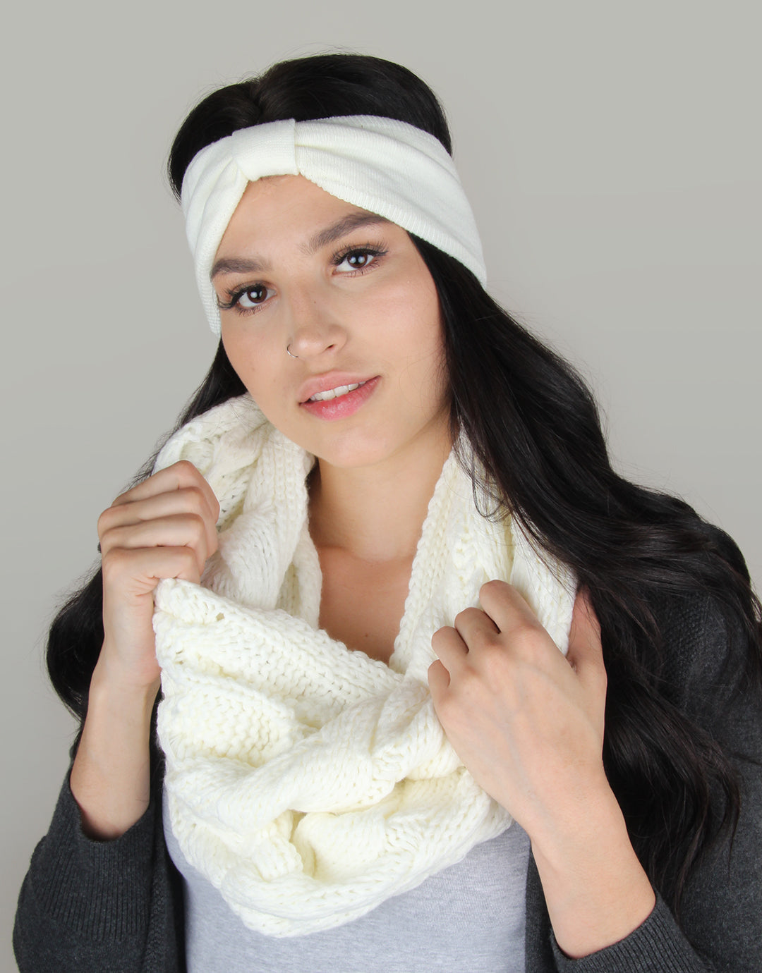 BANDED Women's Premium Headbands + Hair Accessories - Ice Rink - Winter Headband