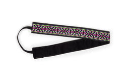 "Purple Lime Geometric - Original 1"" Headband"