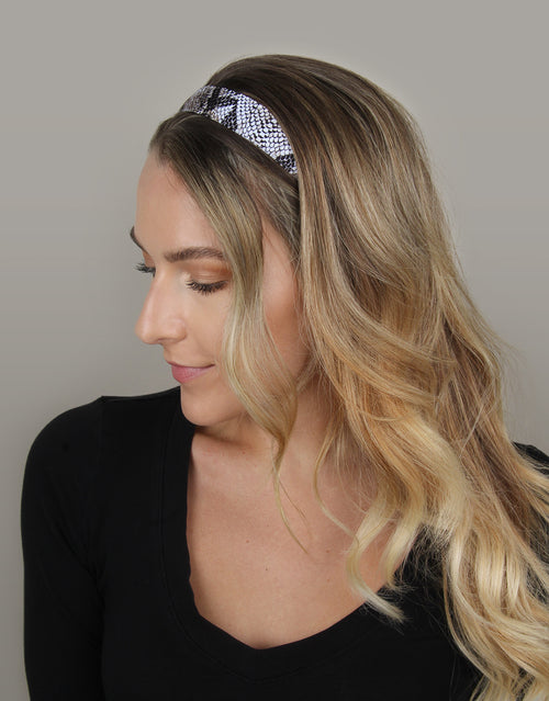 "BANDED Women's Premium Headbands + Hair Accessories - Snake Charmer - Original 1"" Headband"
