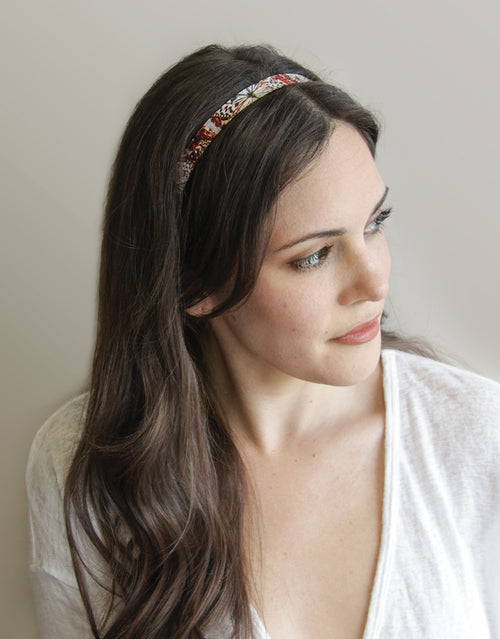 BANDED Women's Premium Headbands + Hair Accessories - Winter Butterfly - Skinny Headband