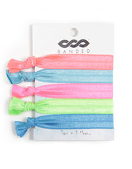 BANDED Accessories Neon Lights - Classic Hair Tie Pack
