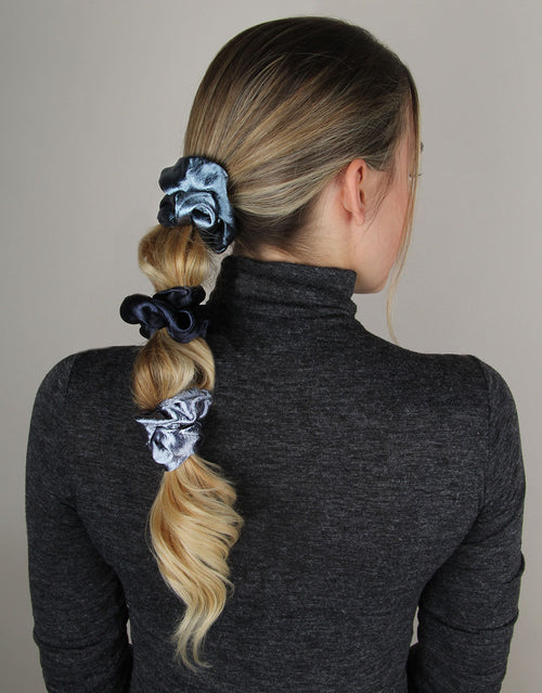 Midnight Serenade - 3 Pack Scrunchies