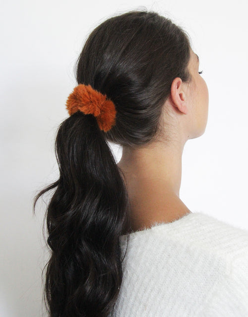 All Spice - 4 Pack Fur Scrunchies