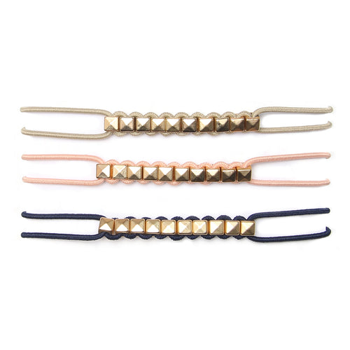 BANDED's Hair Ties + Accessories - Beach Stud - Embellished Ties