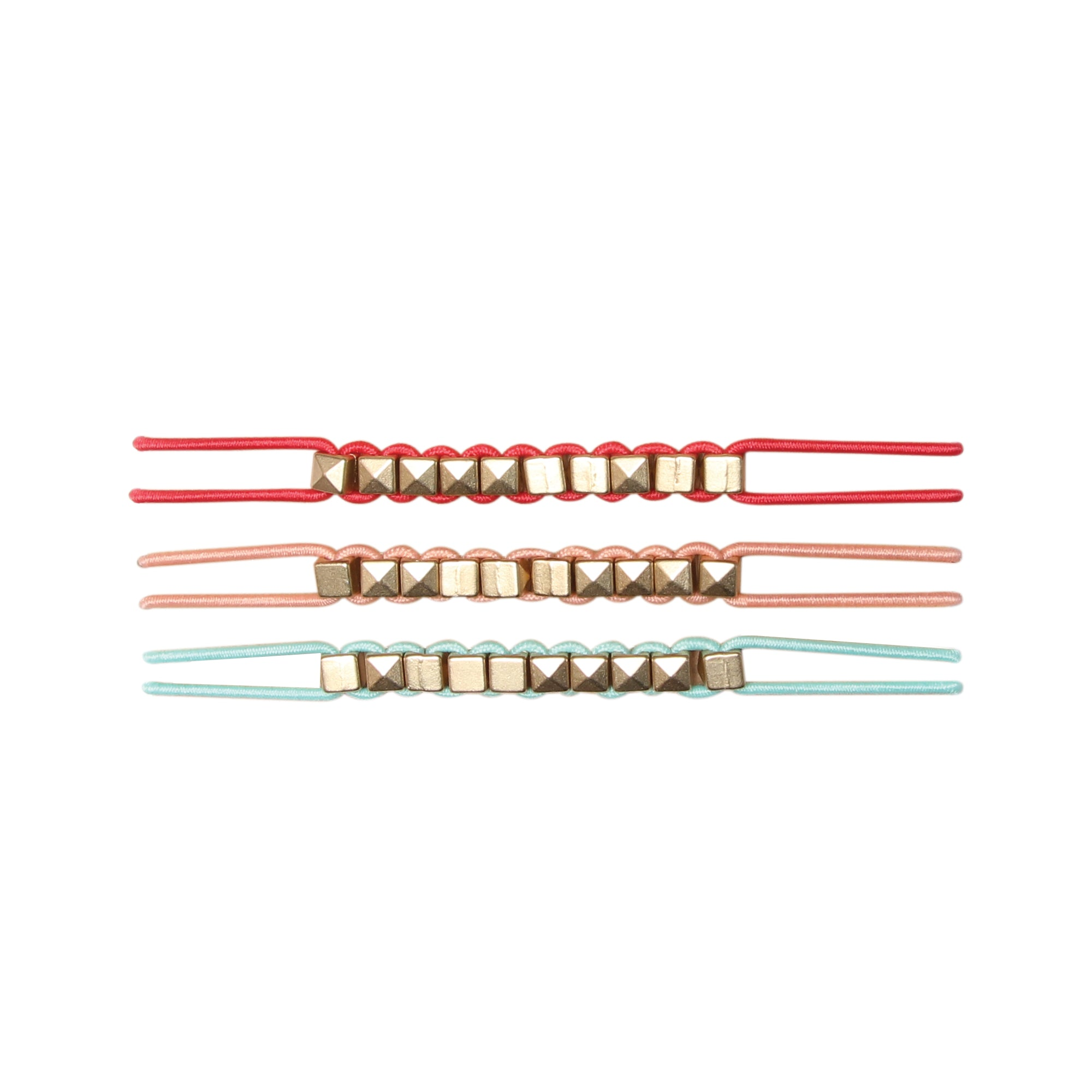 BANDED's Hair Ties + Accessories - Cuban Candy Stud - Embellished Hair Ties