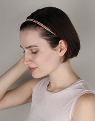 BANDED Women's Premium Headbands + Hair Accessories - Blushing Beauty - Luxe Headband