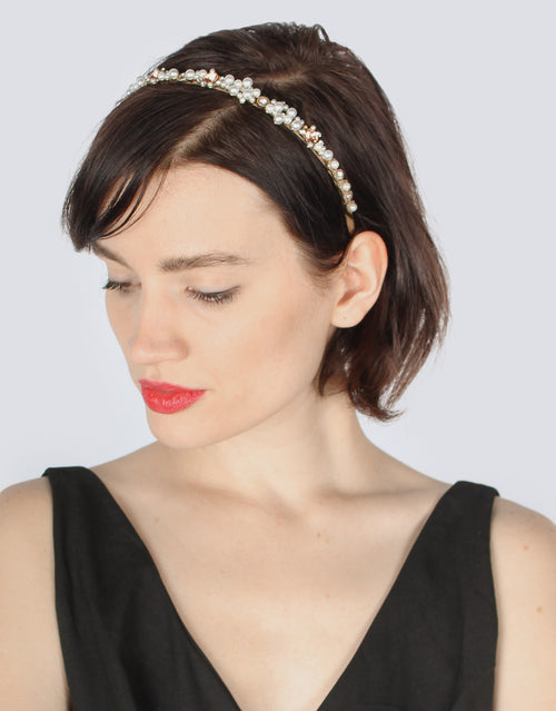 BANDED Women's Premium Headbands - Beaded Bling - Luxe Headband