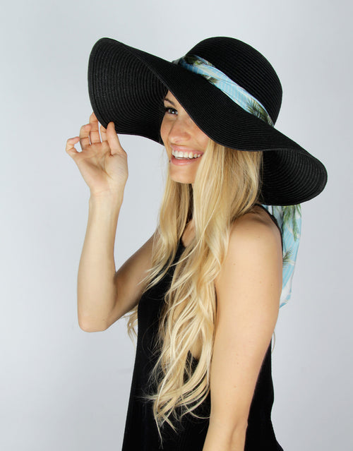 BANDED Women's Hats + Accessories - Yacht Party - Straw Hat