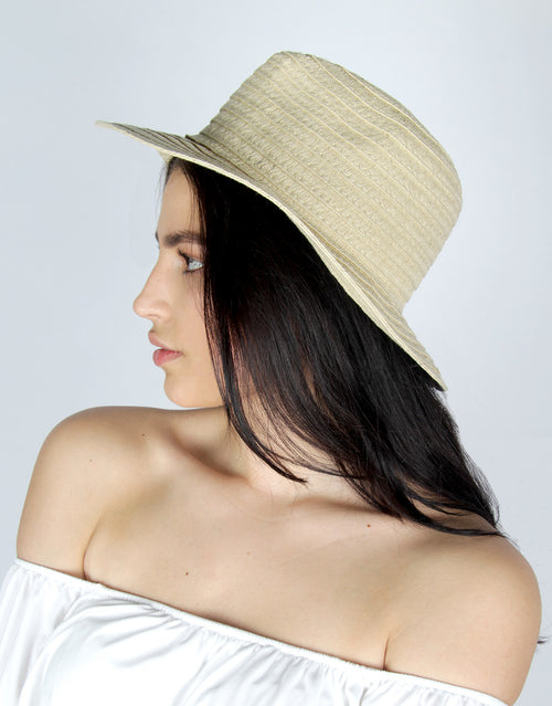 BANDED Women's Hats + Accessories - Sea Breeze - Straw Hat